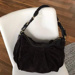 Reduced! Banana Republic suede/leather hobo bag
